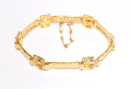 Lapponia Armband mit Brillanten in 750er Gold - H8