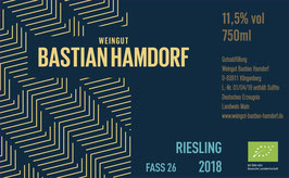 Riesling 2018 Fass 26