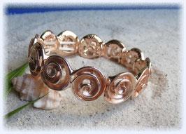 Armband Spiralen rose-gold