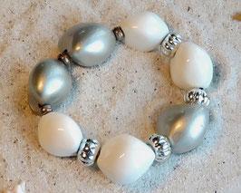 Kukui white & silver