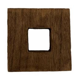 Soporte de madera de paulownia (8,5x8,5 Cm.)