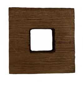 Soporte de madera de paulownia (6,5x6,5 Cm.)