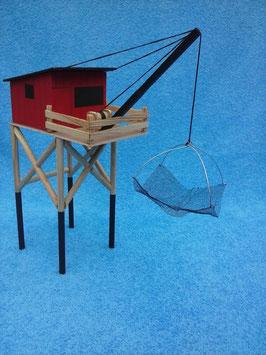maquette de carrelet à construire