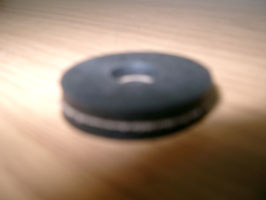 Gummischeibe dünn, R25-69S, O16-11-4-080-148