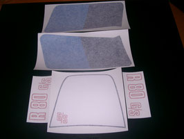 "R 80 G/S Dekorsatz ""blau/blau"" F51-14-001"