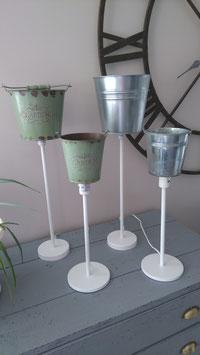 Lampe cache-pot