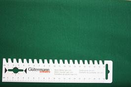 Baumwollstoff Uni/Grün