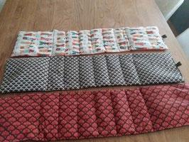 Maxi bouillotte écharpe - 8 compartiments