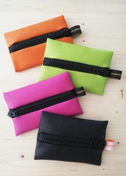 Petit porte-monnaie zippé coloré
