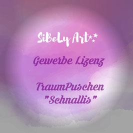 """Gewerbe Lizenz - TraumPuschen """"Schnallis"""""""