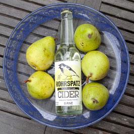 Rohrspatz Cider Birne/Apfel 0,33l