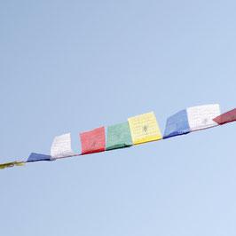 Mini Tibetische Gebetsfahne 1 m
