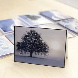 Fotokarte Wintermotiv