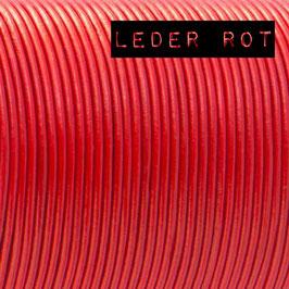 Takelung aus Leder (2mm)  für Leinen und Sets