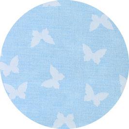 Schmetterlinge babyblau