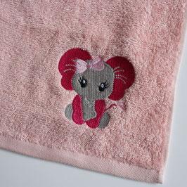 Handtuch: elefant mädchen