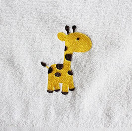 Handtuch: giraffe