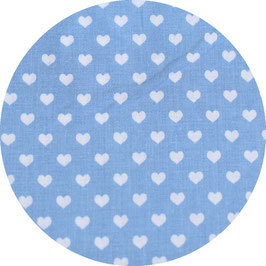 Herzen blau