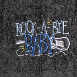 Handtuch: rock a bye baby