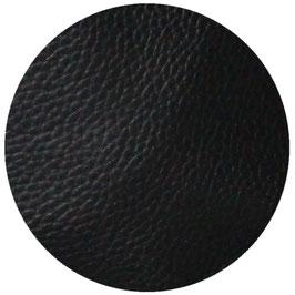 Lederimitat schwarz gerippt