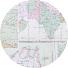 Landkarte mint