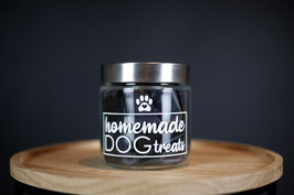 Leckerliglas homemade dog treats
