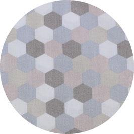 Hexagon pastell