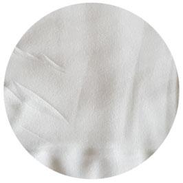 Fleecestoff weiß