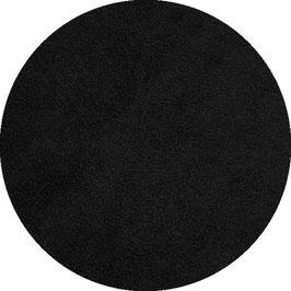 Lederimitat schwarz glatt
