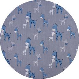 Giraffe blau