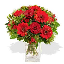 LOVE (Vase en verre en option)