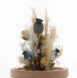 Fleur séchées avec pavot