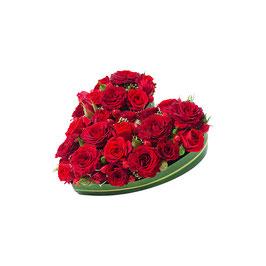 Coeur de roses CUPIDON