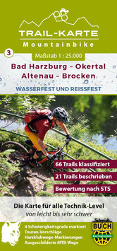 Mountainbike-Karte Bad Harzburg - Brocken