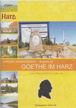 Harzer Wandernadel - Begleitheft Goethe im Harz