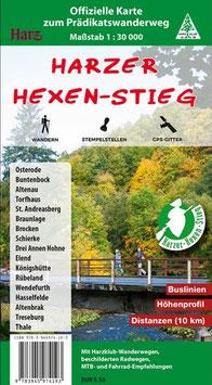 Harzer-Hexen-Stieg - offizielle Wanderkarte