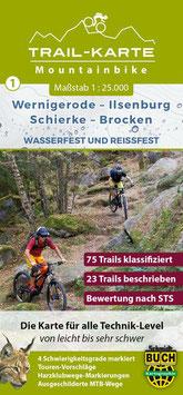 Mountainbike-Karte Wernigerode-Brocken