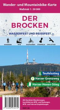 Der Brocken (wasserfest und reißfest)