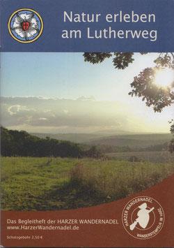 Harzer Wandernadel - Begleitheft Natur erleben am Lutherweg