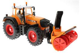 3660 Fendt Vario 920 Traktor with snow cutter blower 1/32