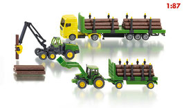 1801 John Deere Forest Set 1/87