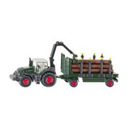 1861 木材運搬トラクター 1/87