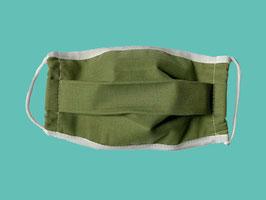 Behelfs-Mund-Nasen-Maske, khaki
