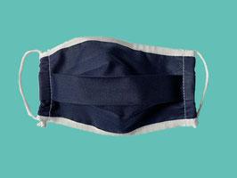 Behelfs-Mund-Nasen-Maske, dunkelblau