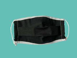 Behelfs-Mund-Nasen-Maske, schwarz