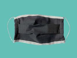 Behelfs-Mund-Nasen-Maske, grau