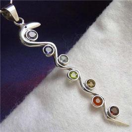 'Kundalini Snake' ~ CHAKRA Pendant