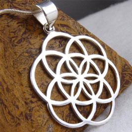 'Seed of Life' ~ Jali Medallion Pendant