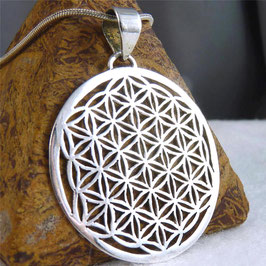 'Flower of Life' ~ Jali Medallion Pendant