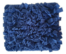 Fummelmatte/ Schnüffelteppich eckig - Jeansblau